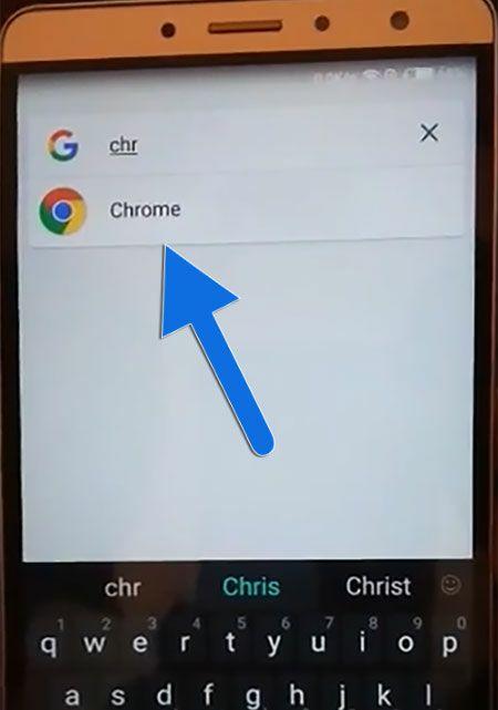 Open Chrome Application on Tecno (Tecno FRP Bypass)