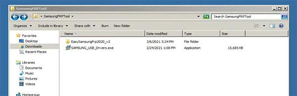 Install Easy Samsung FRP Tool 2020 v2